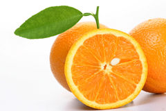 Verse Oranje vruchten Stock Afbeelding
