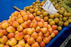Verse Organict bij een Markt van de Straat Stock Fotografie