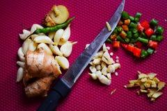 Verse organische gezonde Indische kruiden stock afbeelding