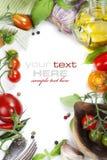 Verse organische groenten Stock Afbeelding