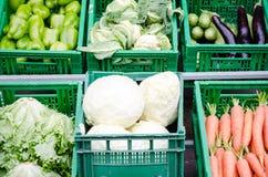 Verse organische groenten Royalty-vrije Stock Foto