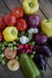 Verse organische opbrengst van de tuin Royalty-vrije Stock Fotografie