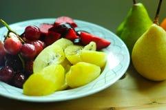 Verse organische vruchten Stock Foto