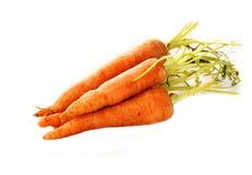 Verse organische wortelen royalty-vrije stock afbeeldingen
