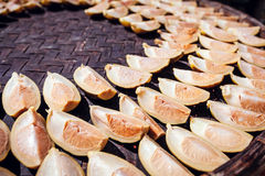 Verse Pinangnoot in de zonneschijn Royalty-vrije Stock Foto