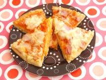 Verse Pizza royalty-vrije stock afbeeldingen