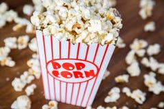 Verse Popcorn Royalty-vrije Stock Afbeeldingen