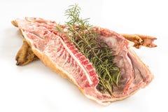 Verse porcetto, Sardisch Voedsel royalty-vrije stock afbeelding