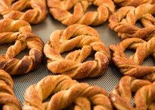 Verse pretzel Royalty-vrije Stock Foto's