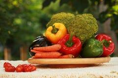Verse product-groenten vegetables Stock Foto