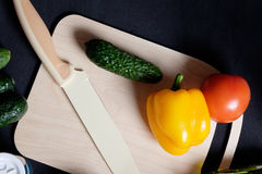Verse product-groenten vegetables Stock Foto