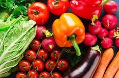 Verse product-groenten vegetables Gezond voedsel stock afbeelding