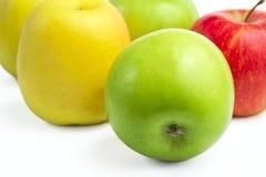 Verse rijpe appelen Royalty-vrije Stock Foto's
