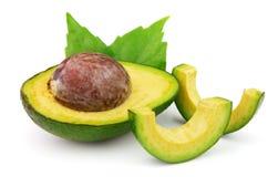 Verse rijpe avocado royalty-vrije stock afbeeldingen