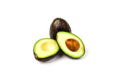 Verse Rijpe Avocado's Royalty-vrije Stock Afbeeldingen