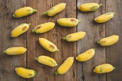 Verse rijpe bananen Royalty-vrije Stock Afbeelding