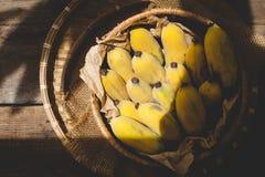 Verse rijpe bananen Royalty-vrije Stock Foto