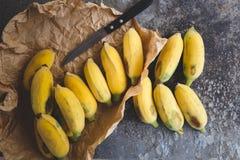 Verse rijpe bananen Royalty-vrije Stock Fotografie