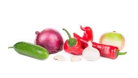 Verse rijpe groenten Stock Foto's