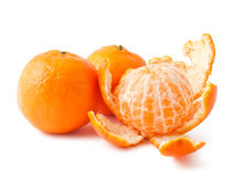 Verse rijpe mandarins stock afbeelding