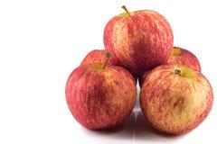 Verse rode appelen Stock Afbeeldingen
