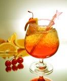 Verse rode drank Royalty-vrije Stock Afbeeldingen