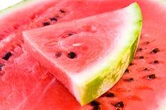 Verse rode watermeloen stock foto's