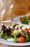 Verse salade stock afbeeldingen