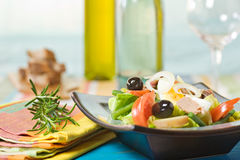 Verse salade stock foto's