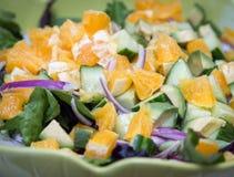Verse salade Royalty-vrije Stock Fotografie