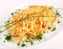Verse salade met groenten Stock Foto