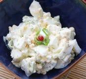 Verse salade van eieren Stock Afbeelding