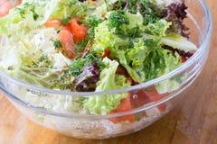 Verse saladegreens Stock Fotografie