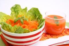 Verse salades Royalty-vrije Stock Foto