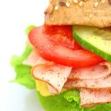 Verse sandwich Royalty-vrije Stock Afbeeldingen