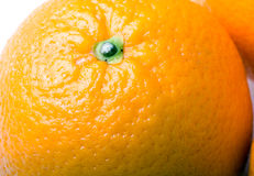 Verse sappige oranje fruitclose-up Stock Afbeelding