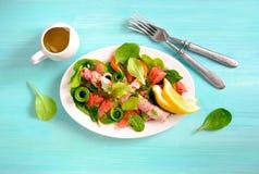 Verse sappige salade royalty-vrije stock foto's