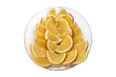 Verse Sinaasappel Stock Fotografie