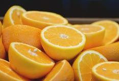 Verse sinaasappel Royalty-vrije Stock Foto