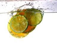 Verse sinaasappel Stock Foto's