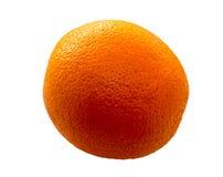 Verse sinaasappel die op witte achtergrond wordt geïsoleerdo Stock Foto