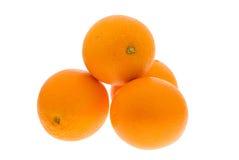 Verse sinaasappelen Stock Afbeelding