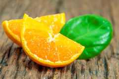 Verse sinaasappelen Royalty-vrije Stock Foto's