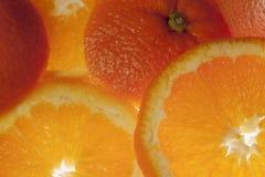 Verse sinaasappelen Royalty-vrije Stock Afbeelding