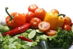 Verse smakelijke groenten Stock Fotografie