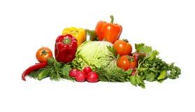Verse smakelijke groenten Royalty-vrije Stock Foto