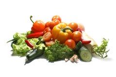 Verse smakelijke groenten Royalty-vrije Stock Afbeeldingen