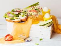 Verse smakelijke sandwiches Royalty-vrije Stock Fotografie