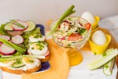 Verse smakelijke sandwiches Royalty-vrije Stock Afbeelding