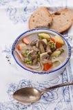 Verse smakelijke soep Stock Foto's
